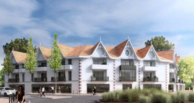 Achat / Vente programme immobilier neuf Andernos résidence de standing proche de la plage (33510) - Réf. 645
