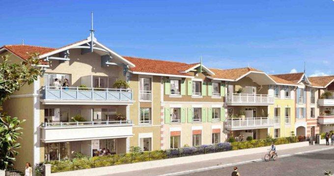 Achat / Vente programme immobilier neuf Arcachon quartier de la gare (33120) - Réf. 3738