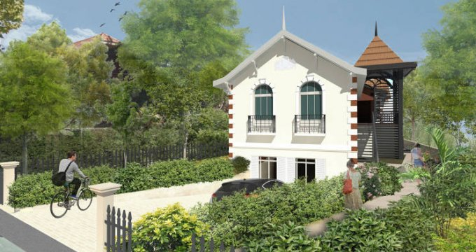 Achat / Vente programme immobilier neuf Arcachon quartier Saint Elme (33120) - Réf. 3919