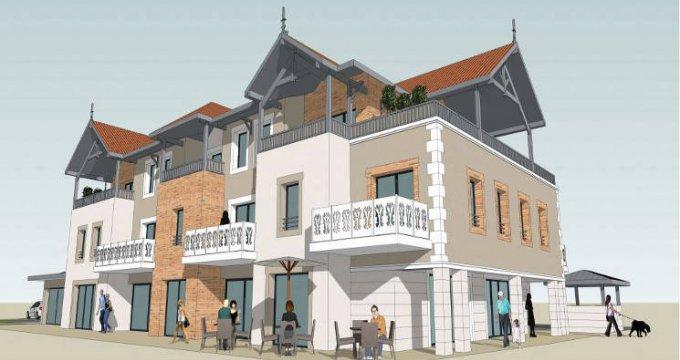 Achat / Vente programme immobilier neuf Audenge au cœur du centre-ville (33980) - Réf. 5835