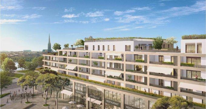 Achat / Vente programme immobilier neuf Bordeaux Place Belvédère (33000) - Réf. 2556