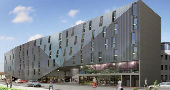 Achat / Vente programme immobilier neuf Bordeaux Place Ravezies (33000) - Réf. 619