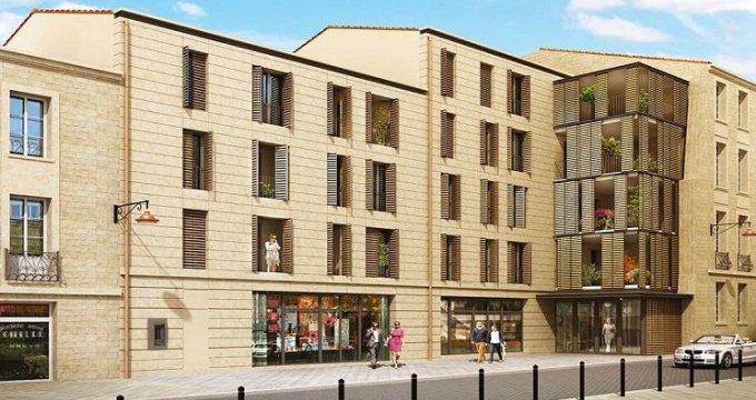 Achat / Vente programme immobilier neuf Bordeaux quartier historique de Saint Michel (33000) - Réf. 563