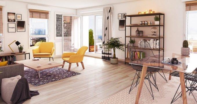 Achat / Vente programme immobilier neuf Carbon-Blanc au coeur d'un écrin de verdure (33560) - Réf. 5885