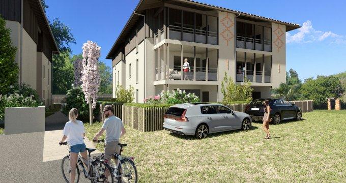Achat / Vente programme immobilier neuf Carcans à 30min de Lège-Cap-Ferret (33121) - Réf. 6283