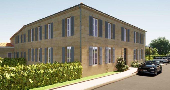 Achat / Vente programme immobilier neuf Cavignac à proximité de tous commerces (33620) - Réf. 6305