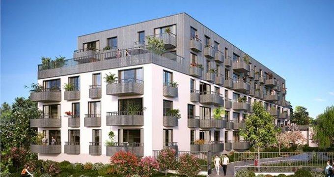 Achat / Vente programme immobilier neuf Cenon Bas entre la gare et les quais (33150) - Réf. 1589