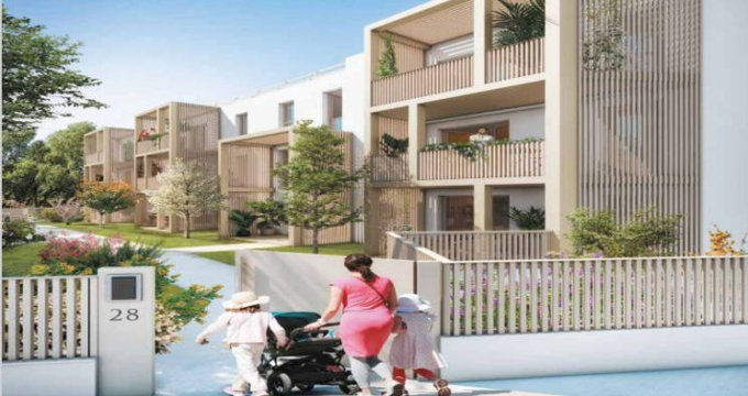 Achat / Vente programme immobilier neuf Eysines proche commodités (33320) - Réf. 4879
