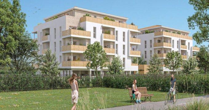Achat / Vente programme immobilier neuf Floirac proche du Parc des Etangs (33270) - Réf. 5507
