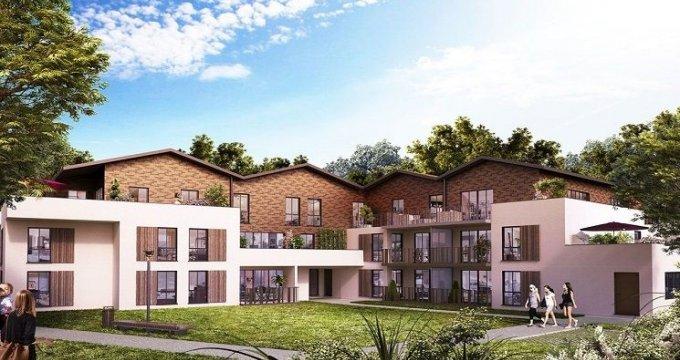 Achat / Vente programme immobilier neuf Gradignan au cœur du parc Saint Albe (33170) - Réf. 1606