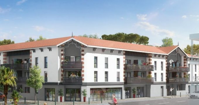 Achat / Vente programme immobilier neuf GUJAN MESTRAS au cœur du centre-ville (33470) - Réf. 1498
