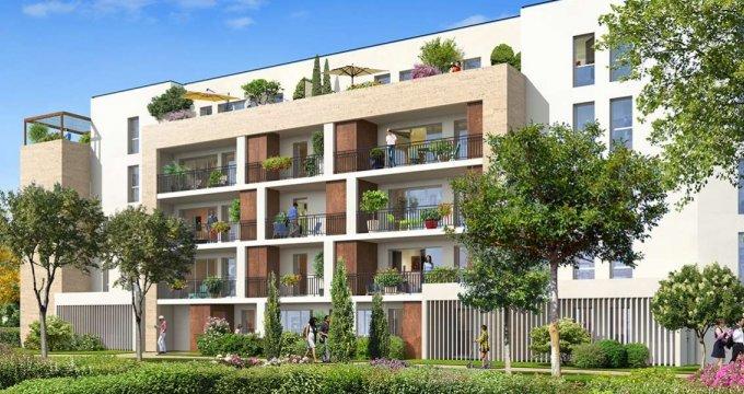 Achat / Vente programme immobilier neuf Le Bouscat à 700 mètres du Tram D (33110) - Réf. 2243