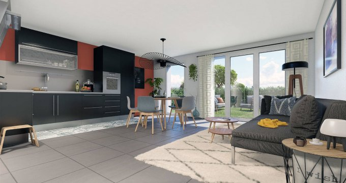 Achat / Vente programme immobilier neuf Le Bouscat proche du parc de la Chêneraie (33110) - Réf. 6282