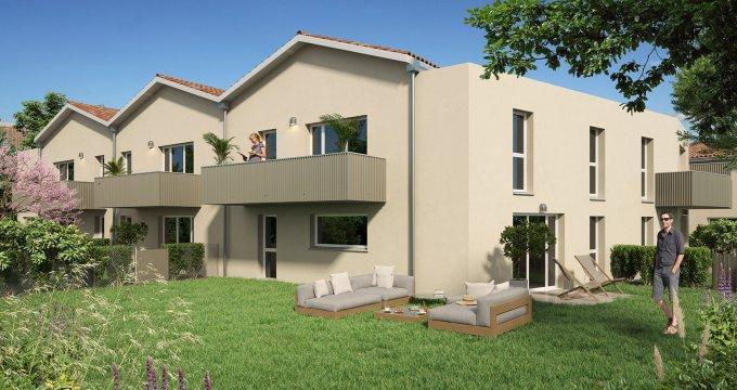 Achat / Vente programme immobilier neuf Le Taillan Médoc secteur pavillonnaire (33320) - Réf. 6301