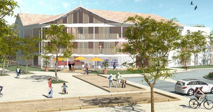 Achat / Vente programme immobilier neuf Le Teich, 500m de la Gare TER (33470) - Réf. 3825