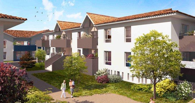 Achat / Vente programme immobilier neuf Mérignac quartier pavillonnaire proche bus (33700) - Réf. 338