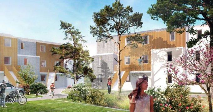 Achat / Vente programme immobilier neuf Parempuyre proche bois d'Arboudeau (33290) - Réf. 2139