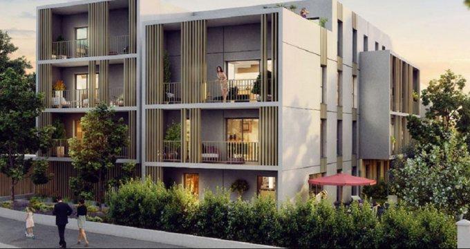 Achat / Vente programme immobilier neuf Pessac entre Haut Lévêque et Alouette (33600) - Réf. 2342