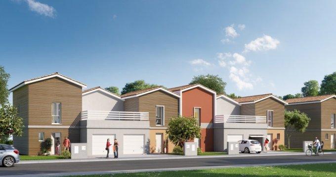 Achat / Vente programme immobilier neuf Saint-Aubin-de-Medoc parc de Villepreux (33160) - Réf. 2547