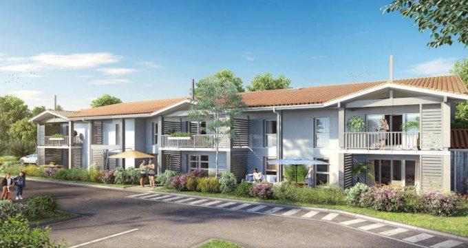 Achat / Vente programme immobilier neuf Saint-Jean-d'Illac proche Bordeaux (33127) - Réf. 2718