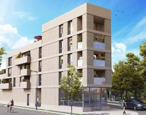 Achat / Vente programme immobilier neuf Bordeaux Caudéran secteur Bel Air (33000) - Réf. 6072