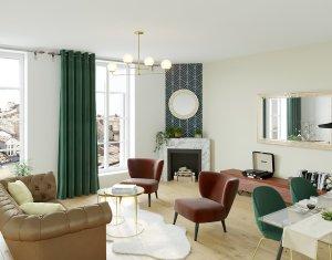 Achat / Vente programme immobilier neuf Bordeaux, entre les Capucins et la Victoire (33000) - Réf. 5240