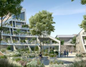 Achat / Vente programme immobilier neuf Bordeaux rive droite face à la promenade des Quais (33000) - Réf. 5331