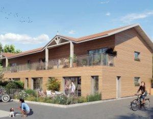 Achat / Vente programme immobilier neuf La Teste-de-Buch à un kilomètre du centre (33260) - Réf. 448