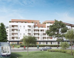 Achat / Vente programme immobilier neuf Lormont à 1 minute du Tramway (33310) - Réf. 3952