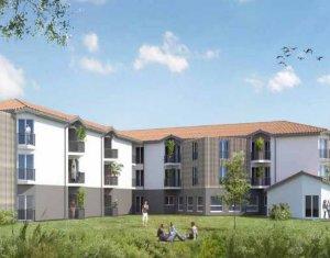 Achat / Vente programme immobilier neuf Pessac cœur du quartier Noës (33600) - Réf. 3498