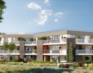 Achat / Vente programme immobilier neuf Pessac résidence de standing dans parc arboré proche tram Camponac (33600) - Réf. 1526