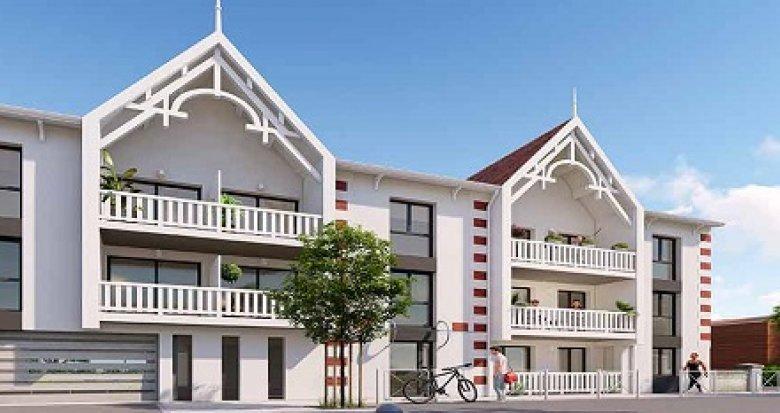 Achat / Vente programme immobilier neuf Andernos-les-Bains 800 à mètres de la plage (33510) - Réf. 2433