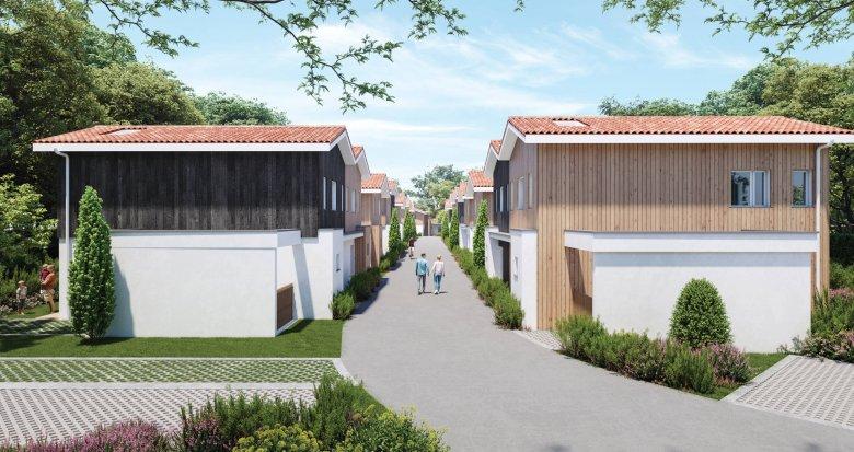 Achat / Vente programme immobilier neuf Andernos-les-Bains à 20min de la plage (33510) - Réf. 6046