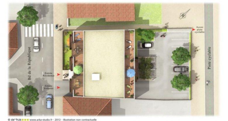 Achat / Vente programme immobilier neuf Andernos-les-Bains centre (33510) - Réf. 541
