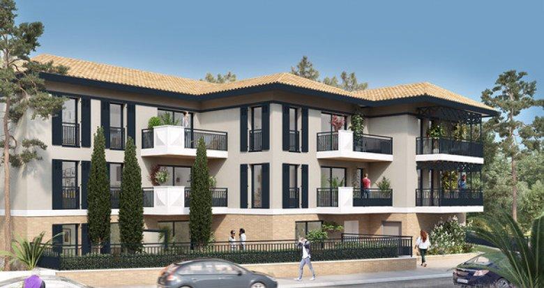 Achat / Vente programme immobilier neuf Arcachon proche écoles (33120) - Réf. 3646