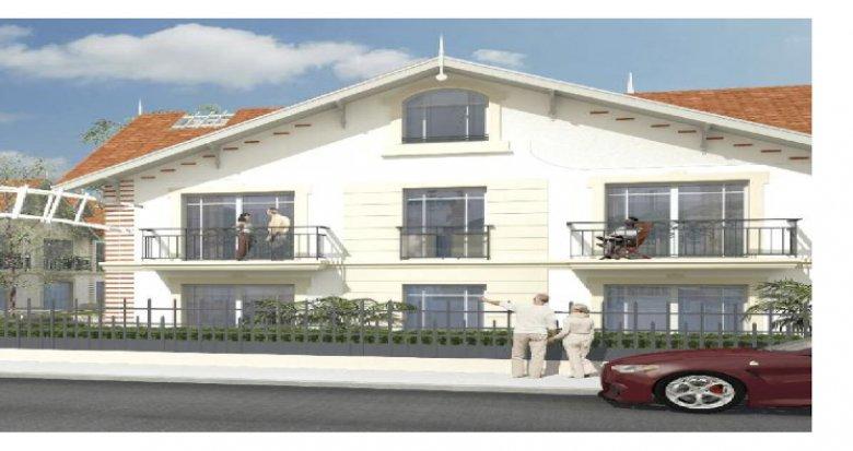 Achat / Vente programme immobilier neuf Arcachon quartier de l'Aiguillon (33120) - Réf. 5513