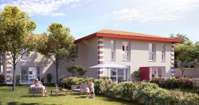 Achat / Vente programme immobilier neuf Arès à moins de 2km de la plage (33740) - Réf. 5130