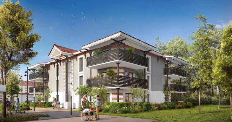 Achat / Vente programme immobilier neuf Audence au cœur d'un quartier calme et résidentiel (33980) - Réf. 3905
