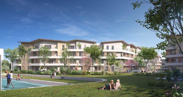 Achat / Vente programme immobilier neuf Bassens quartier du Moura (33530) - Réf. 2207