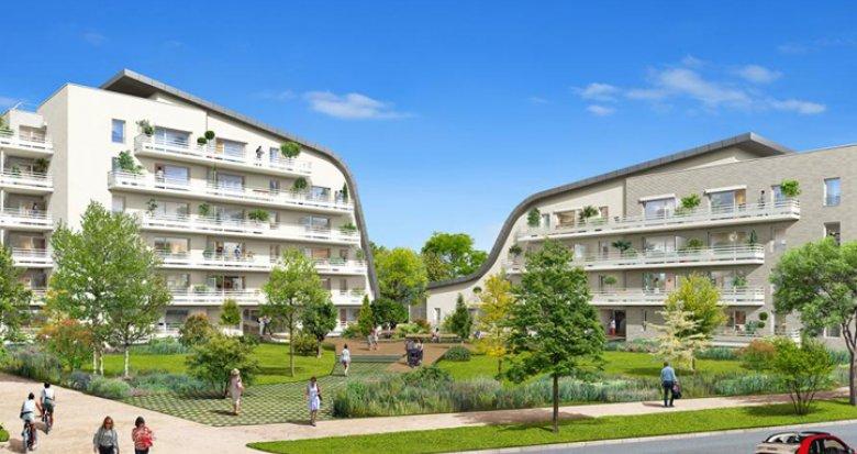 Achat / Vente programme immobilier neuf Bègles, dans éco-quartier Terre Sud (33130) - Réf. 948