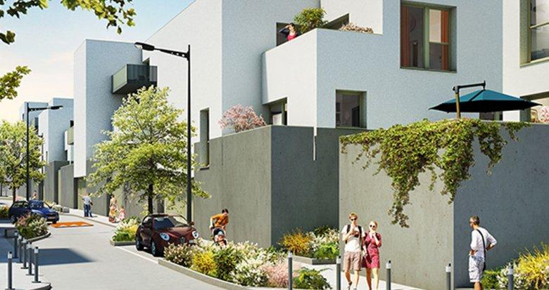 Achat / Vente programme immobilier neuf Bègles proche du Tramway ligne C (33130) - Réf. 1343