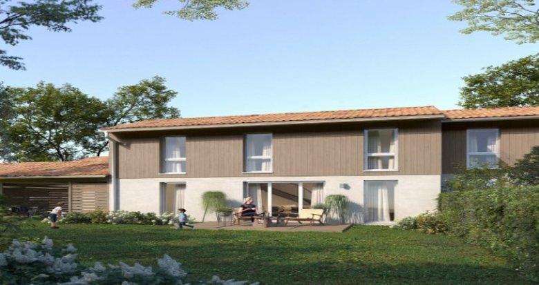 Achat / Vente programme immobilier neuf Belin-Béliet au coeur du Parc des Landes de Gascogne (33830) - Réf. 5181