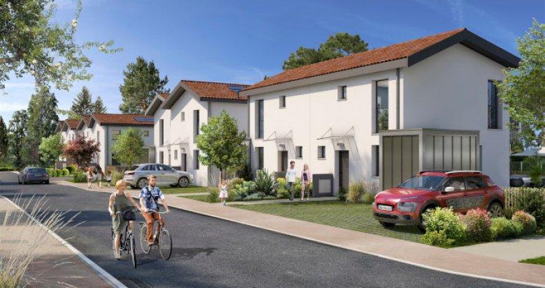 Achat / Vente programme immobilier neuf Blanquefort à 15 min à pied du vieux bourg (33290) - Réf. 5439