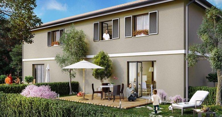 Achat / Vente programme immobilier neuf Blanquefort proche parc Majolan (33290) - Réf. 529