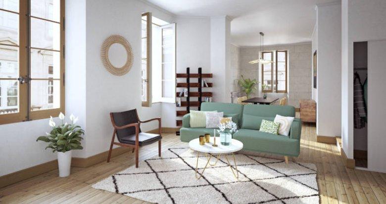 Achat / Vente programme immobilier neuf Bordeaux à 200m de la Porte Cailhau (33000) - Réf. 5740