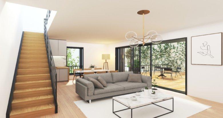 Achat / Vente programme immobilier neuf Bordeaux à 200m station Tram Victoire (33000) - Réf. 5306