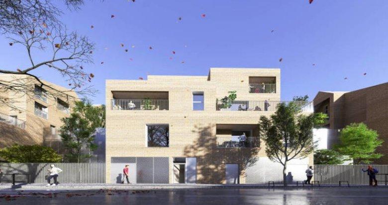 Achat / Vente programme immobilier neuf Bordeaux à 5 min à pied du tram Stalingrad (33000) - Réf. 5851