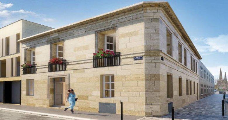 Achat / Vente programme immobilier neuf Bordeaux à 7 min à pied du centre (33000) - Réf. 4878