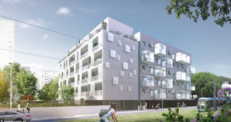 """Achat / Vente programme immobilier neuf Bordeaux à deux pas du tramway C """"Grand Parc"""" (33000) - Réf. 4960"""