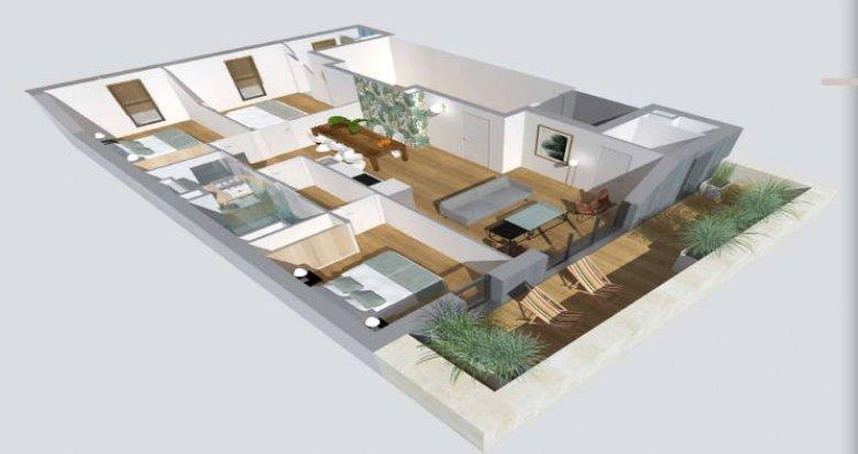 Achat / Vente programme immobilier neuf Bordeaux à quelques pas du tramway (33000) - Réf. 4336